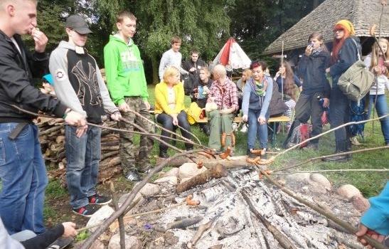 Rajd pierwszoklasistów 2013