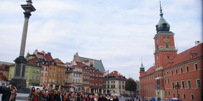 Wycieczka do Warszawy klas 2TD, 2TE i 2TF