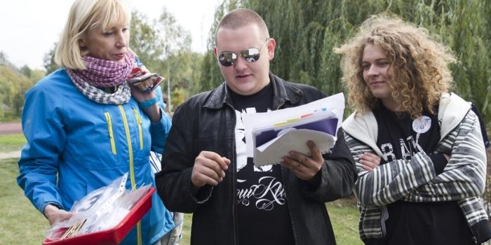 Rajd integracyjny pierwszoklasistów w Pierwoszowie
