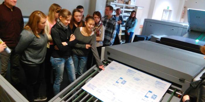 Wycieczka do drukarni Arteprint w Długołęce
