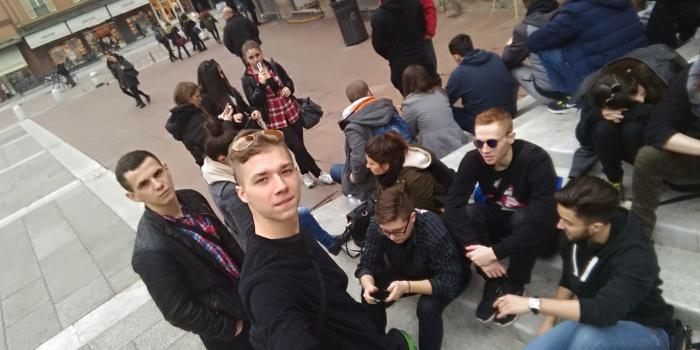 Uczniowie 3 TC w Bolonii