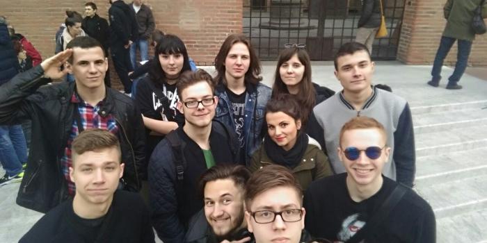 Praktyki klasy 3 TC w Bolonii