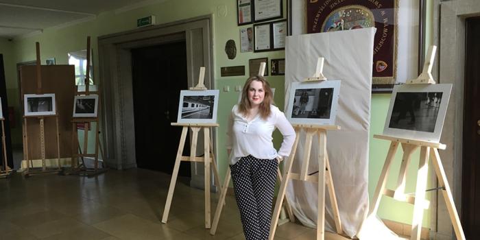 Wystawa Kamili Skrzyneckiej w Siechnicach