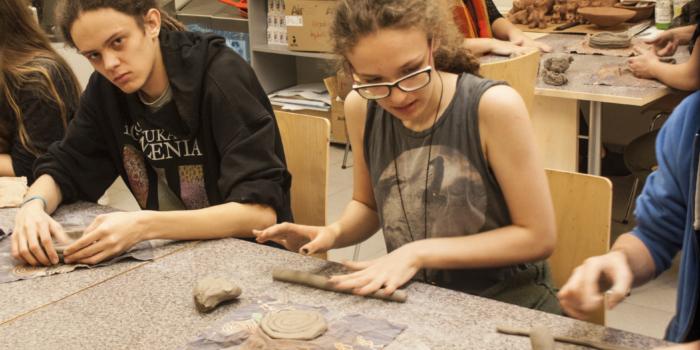 3TF na zajęciach z Ceramiki