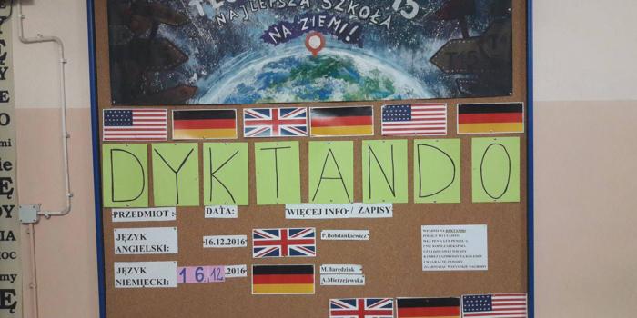 Angielsko-niemieckie dyktando