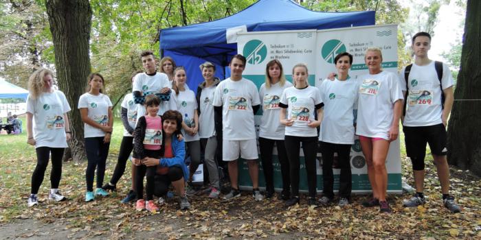 W weekend pobiegliśmy dla Kacpra Borkowskiego!
