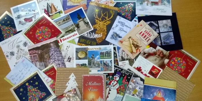 Kartki i życzenia z Beauvais właśnie dotarły!