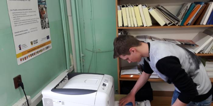 Nowy nabytek w pracowni druku