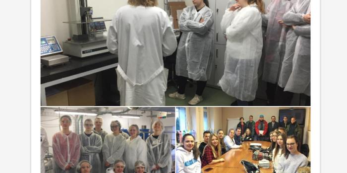 Nasi chemicy z wizytą w E&S Industry S.A.