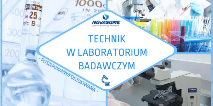 Zostań laborantem w Novasome
