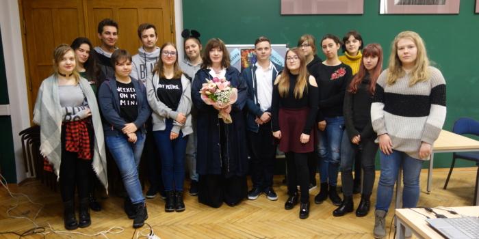 Spotkanie z pisarką panią Ewą Karwan-Jastrzębską
