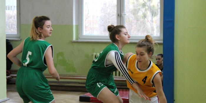 Wrocławska Licealiada w koszykówce dziewcząt