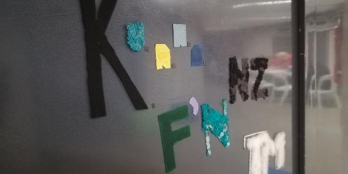 Klasa 2TF na warsztatach z dizajnu