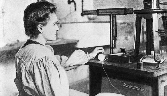 Wyniki szkolnego konkursu wiedzy o Marii Skłodowskiej-Curie