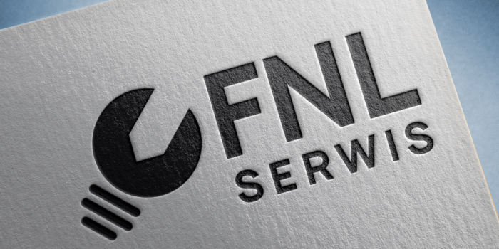 FNL Serwis Logo Mockup