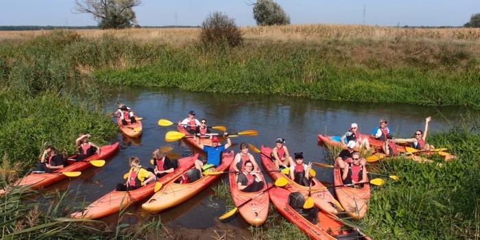 Spływ kajakowy rzeką Oławą