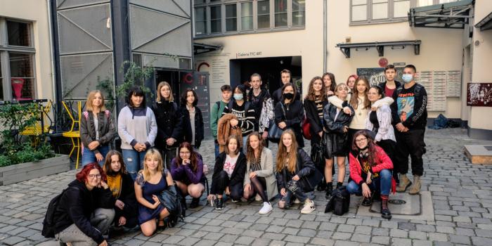 Klasa 1D z wizytą na TIFF Festival