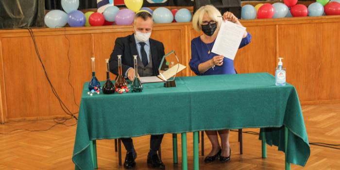 Uroczystość podpisania umowy patronackiej z Politechniką Wrocławską